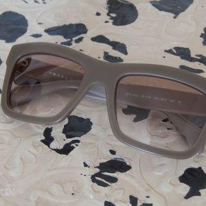 Prada Army Green Sunglasses
